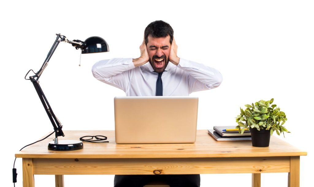 Nuisances sonore au travail