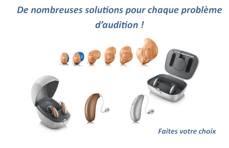 appareils auditifs Unitron