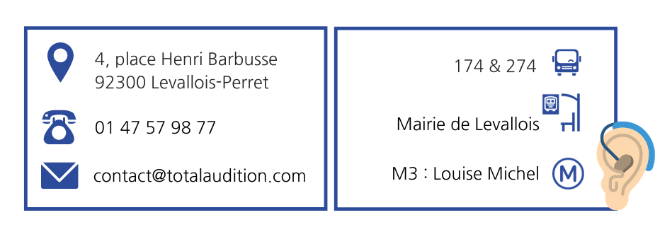 informations Total' Audition Levallois